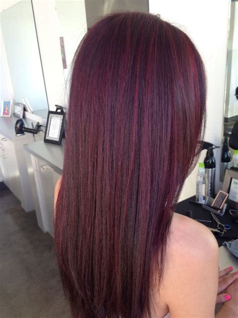steps to doing burgundy hair with brown and caramel highlights 55 dark brown purple burgundy hair color hairstyles koees blog