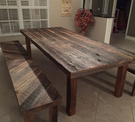reclaimed wood dining table and bench reclaimed dining table that fits the room wood and home