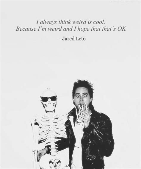 Jared Leto Is A Lover by Jared Leto Quote Just C