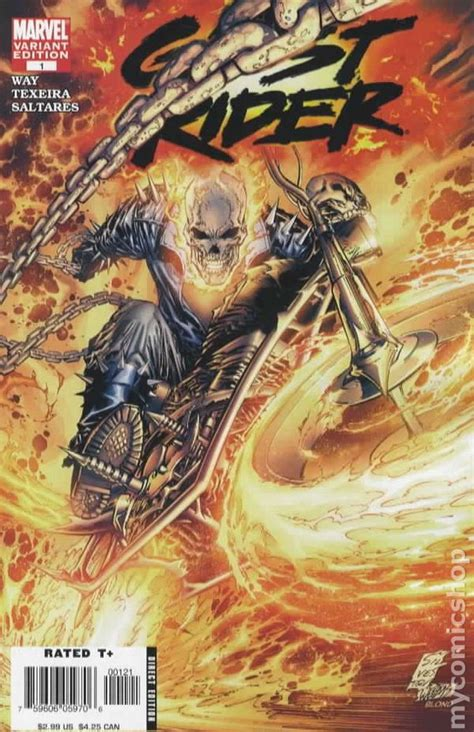 ghost rides books ghost rider 2006 4th series comic books