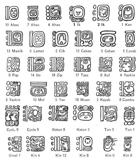 Galerry aztec sun coloring page