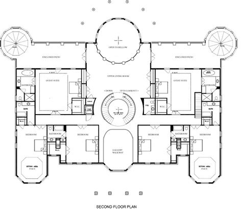 mansion layouts a hotr reader s revised floor plans to a 17 000 square
