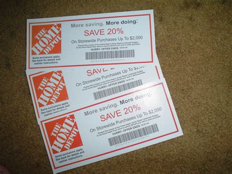 home depot coupons in store gordmans coupon code