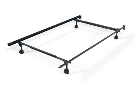 Twin Full Bed Frame With Casters Bed Frames Rails Bed Frame With Rails