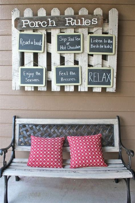 Top 70 DIY Patio and Porch Decor Ideas (2017) Crafts and