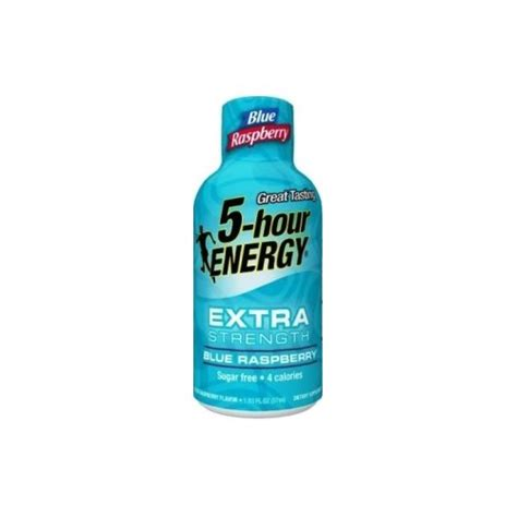 5 Hour Energy Type For Detox by 5 Hour Energy Strength Blue Raspberry 24 Count