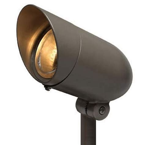 small bronze 120v spot light hinkley path landscape