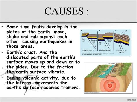 what causes earthquakes earthquake information when earth shook impact cause of earth quake