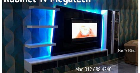Tv Led Bandar Lung kabinet tv megatech kabinet tv lcd led jenis gantung