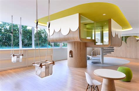 home interior and exterior design concept kids room paint spring kindergarten in wanchai by joey ho design