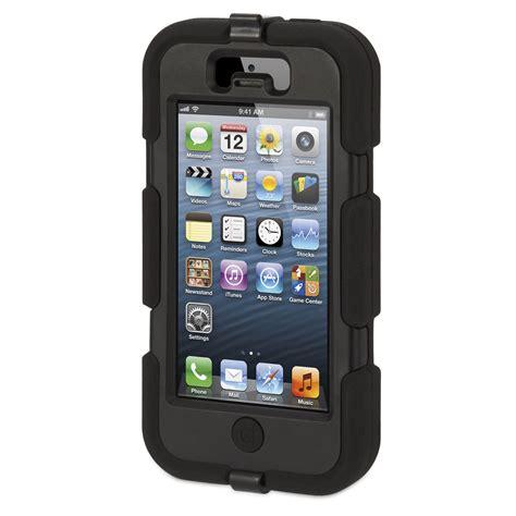 D Iphone 5 by Griffin Survivor Noir Apple Iphone 5 Etui T 233 L 233 Phone Griffin Technology Inc Sur Ldlc