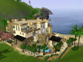 Sims 3 Modern House Floor Plans mod the sims modern house with a view