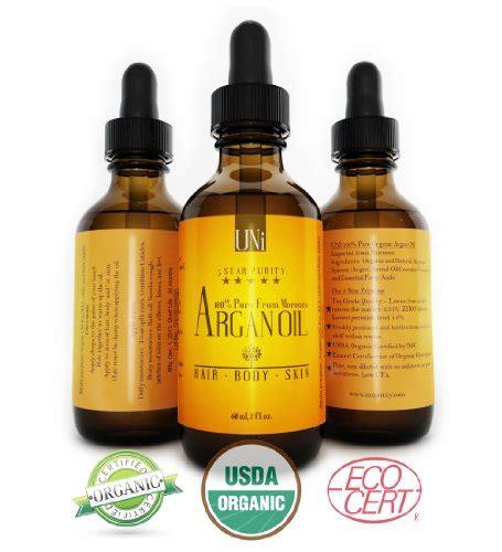 premium 100 organic moroccan argan hair