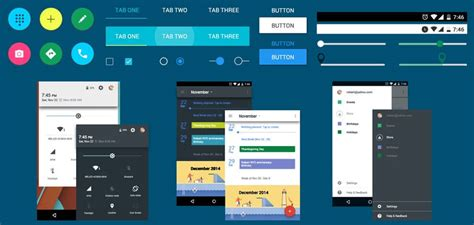 material design ui maker android material design ui kit free download