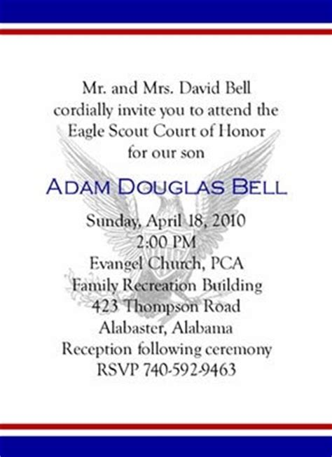 of honor template 15 best images about eagle scout stationary ideas on