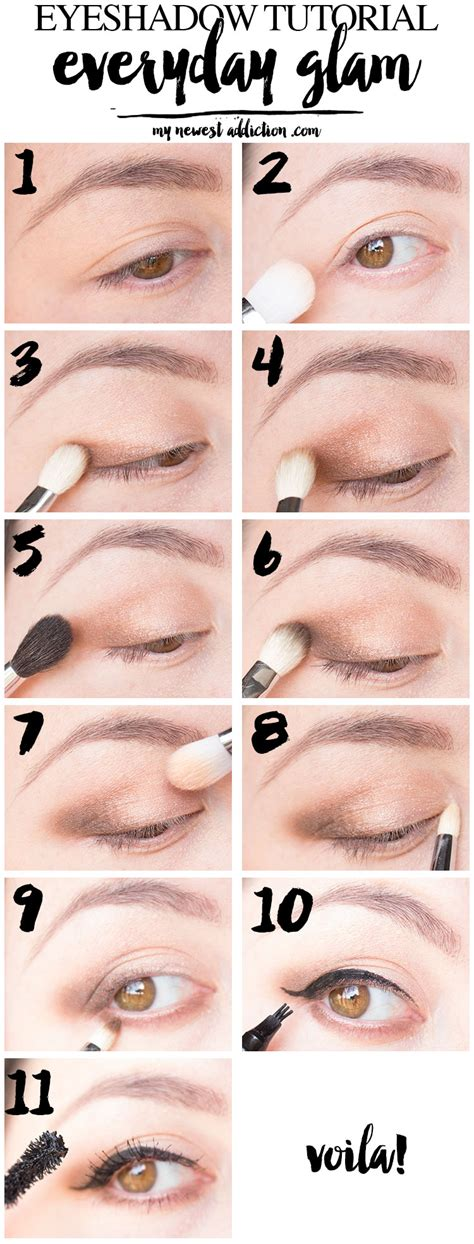 Eyeshadow Tutorial everyday glam eyeshadow tutorial my newest addiction