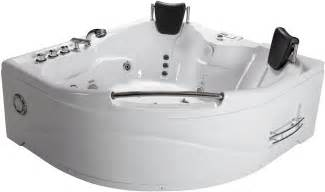 2 person bathtub corner whirlpool tub spa therapy
