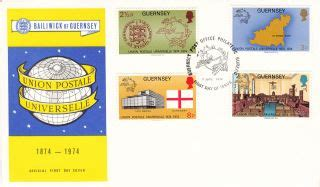 2219 Gb Fdc 1974 Definitive great britain regional issues guernsey philatelic