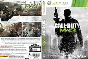 call of duty modern warfare 3 dvd cover 2011 xbox 360