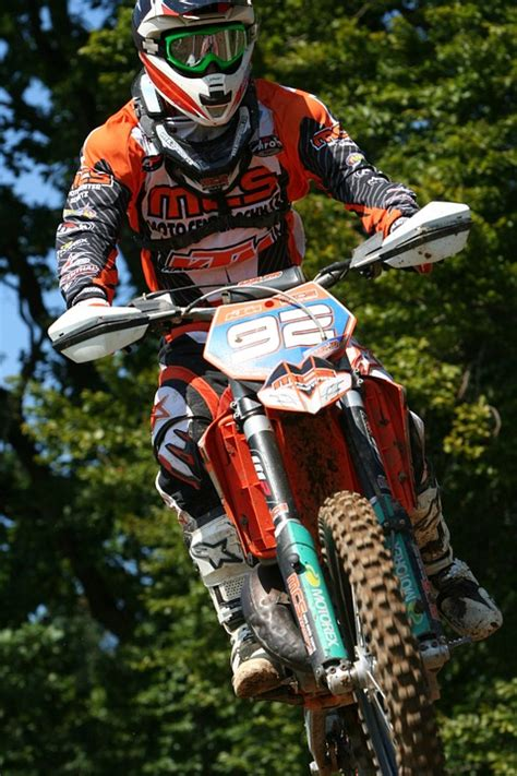 photo motocross motorcycle jump race  image