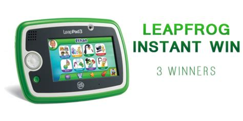 Shop Your Way Instant Win - shop your way leapfrog instant win game