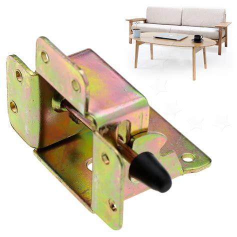 4x Iron Locking Folding Table Chair Leg Brackets Hinge