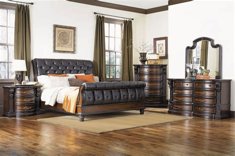 Gardner White Bedroom Sets Decor - cabernet sleigh bed at gardner white