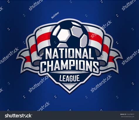 football logo template vector illustration isolated stock