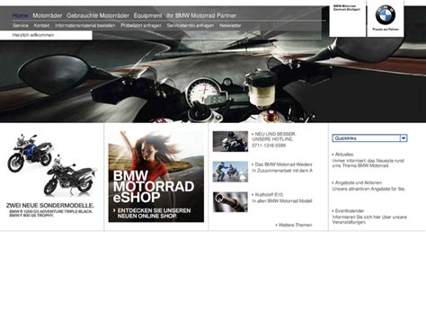 Bmw Motorrad Händler Mv by Bmw Motorrad Zentrum Stuttgart In Stuttgart Motorradh 228 Ndler