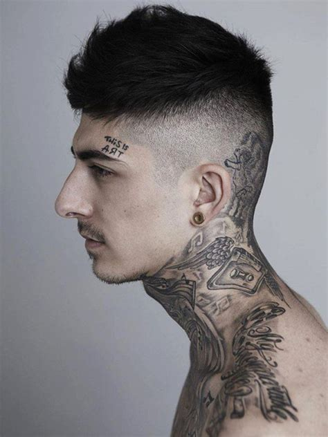 tattoos on the neck for men neck designs for mens neck ideas