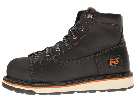 Sepatu Boots Safety Timberland Stormbuck Black timberland pro gridworks 6 quot alloy safety toe boot at zappos
