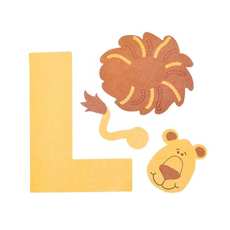 l is for lion crafts