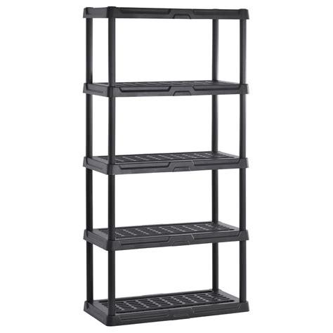 Heavy Duty Rack Shelf by Heavy Duty Plastic Shelving Five Shelf In Heavy Duty