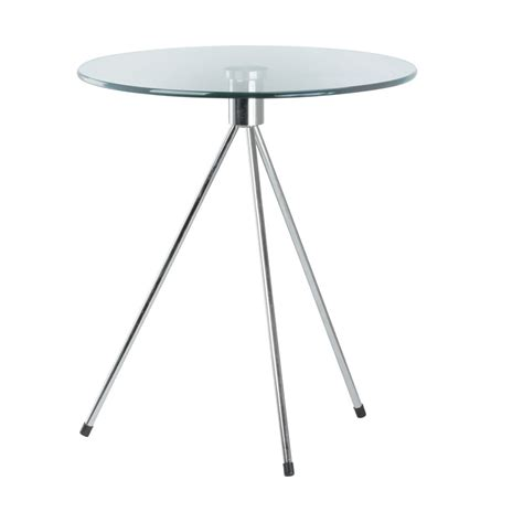 Tripod Side Table Tripod Glass Side Table Place Furniture