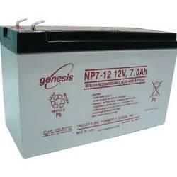genesis battery osi batteries enersys genesis np7 12 sealed lead battery
