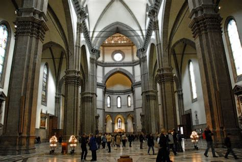 santa fiore interno la cattedrale di firenze santa fiore venividivici