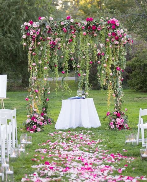 backyard decorations for best 25 backyard wedding decorations ideas on
