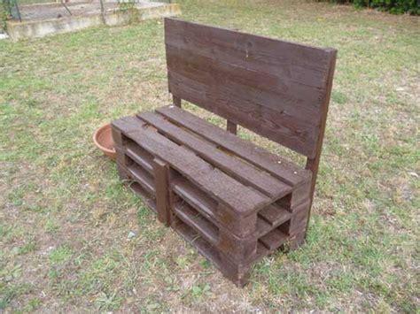 panchine di legno vecchi bancali trasformati in panchine tusciaweb eu