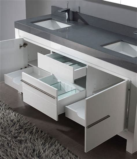 white bathroom vanities modern los angeles by