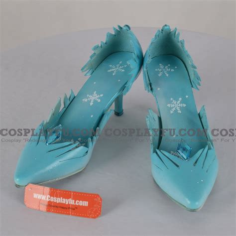 elsa shoes elsa shoes light blue from frozen cosplayfu