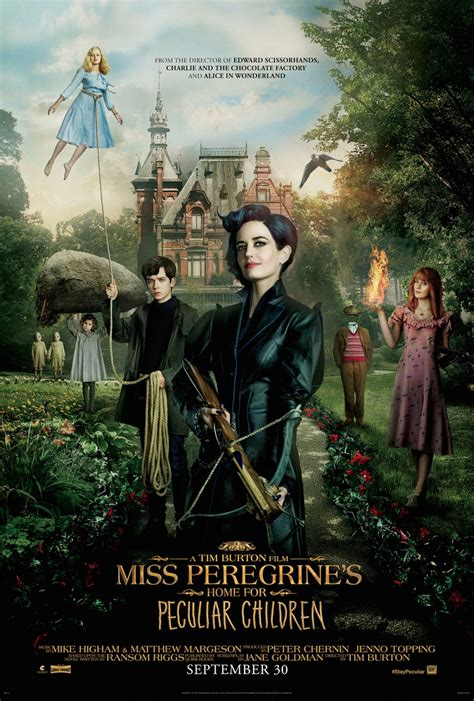 miss peregrine s home for peculiar children cast director