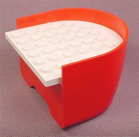 lego boat red lego x147002 red boat stern section with white deck 30 2