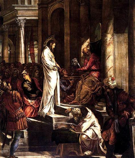 imagenes de jesus ante pilato biografia de poncio pilatos