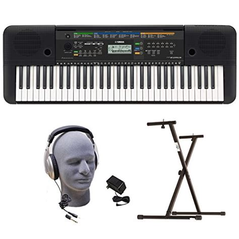 Headphone Untuk Keyboard Yamaha yamaha psre253 portable keyboard with headphones power