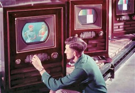 1950 color tv was introduced and by 1951 was determined to