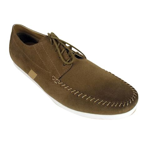 wallaby shoes mens base sylus suede leather wallaby casual shoes