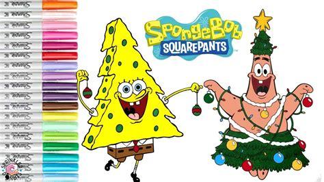 spongebob christmas tree quotes spongebob squarepants coloring book page tree sprinkled donuts