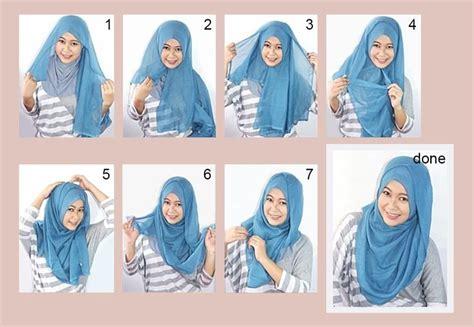 tutorial pashmina macam tudung bawal tutorial gaya harian kasual dengan tudung bawal 2015