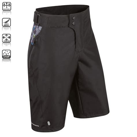 waterproof cycling clothing tenn mens protean waterproof mtb downhill cycling shorts