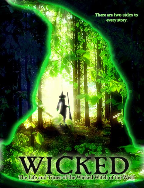 wicked imdb wicked movie poster by blinkrock421 on deviantart